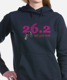 Cute Marathoner Women's Hooded Sweatshirt