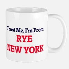 Trust Me, I'm from Rye New York Mugs
