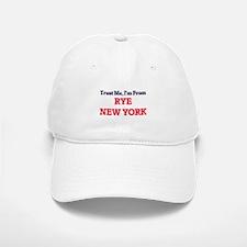 Trust Me, I'm from Rye New York Baseball Baseball Cap