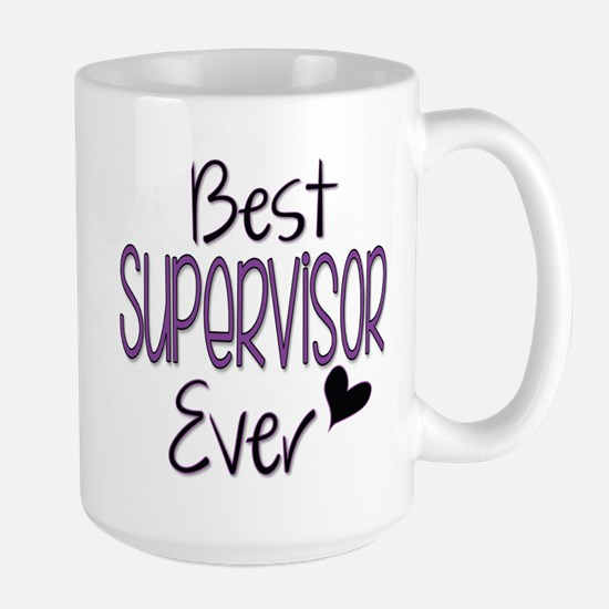 Speech Supervisor Large Mug Mugs