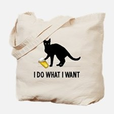 Funny What do we want Tote Bag
