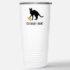 I Do What I Want Travel Mug