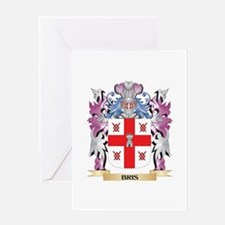 Bris Coat of Arms (Family Crest) Greeting Cards