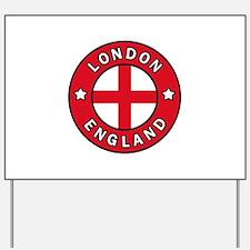 London England Yard Sign