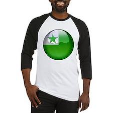 Esperanto Flag Jewel Baseball Jersey