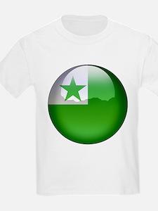 Esperanto Flag Jewel T-Shirt