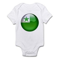 Esperanto Flag Jewel Infant Bodysuit