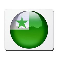 Esperanto Flag Jewel Mousepad