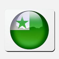 Esperanto Flag Jewel Mousepad