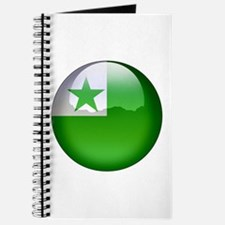Esperanto Flag Jewel Journal