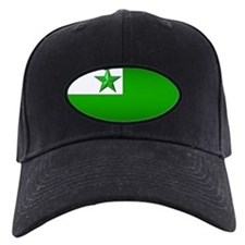 Esperanto Flag Jewel Baseball Hat