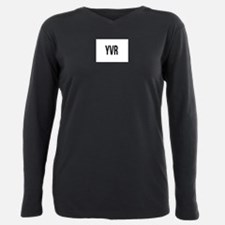 Cute Vancouver bc Plus Size Long Sleeve Tee