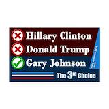 "Gary johnson 3"" x 5"""