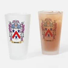 Brodie Coat of Arms (Family Crest) Drinking Glass