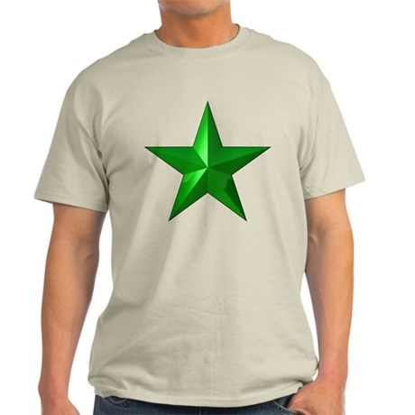 Verda Stelo (Green Star) Light T-Shirt