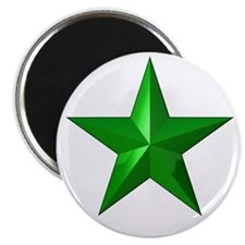 """Verda Stelo (Green Star) 2.25"""" Magnet (100 pack)"""