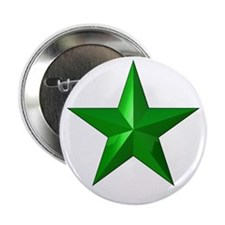 "Verda Stelo (Green Star) 2.25"" Button"