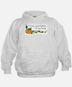 Give Thanks for Family Hoodie