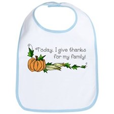 Give Thanks for Family Bib
