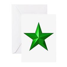 Verda Stelo (Green Star) Greeting Cards (Pk of 20)