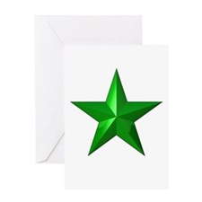 Verda Stelo (Green Star) Greeting Card