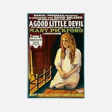 A Good Little Devil Rectangle Magnet