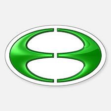 Jubilea Simbolo (Jubilee Symbol) Oval Decal
