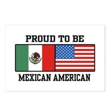 Proud Mexican American Postcards (Package of 8)