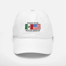 Proud Mexican American Baseball Baseball Cap