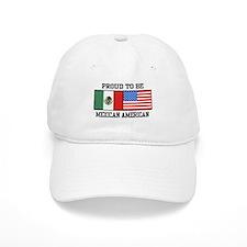 Proud Mexican American Baseball Cap