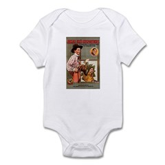 Alkali Ike's Misfortunes Infant Bodysuit