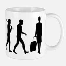 Flight Attendant Evolution Mug Mugs