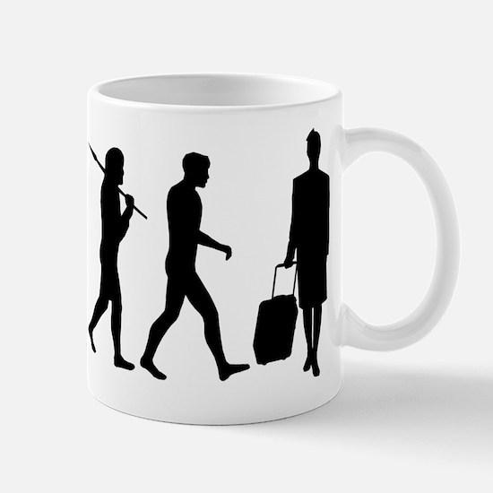 Flight Attendant Evolution Mug Mugs
