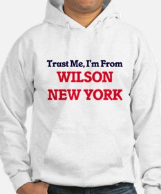 Trust Me, I'm from Wilson New Yo Hoodie