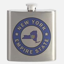 Cute Buffalo love Flask