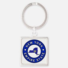 Cool Long beach city Square Keychain