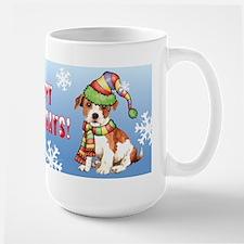 Holiday Parson Russell Mug