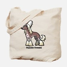Cute Chinese crested Tote Bag