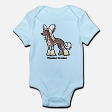 chinese crested Body Suit