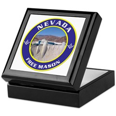 Nevada Freemasons Keepsake Box