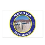 Nevada Freemasons Postcards (Package of 8)