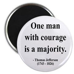 Thomas Jefferson 5 Magnet