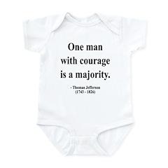 Thomas Jefferson 5 Infant Bodysuit
