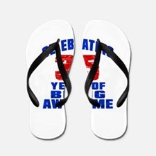 Celebrating 35 Years Of Being Awesome Flip Flops