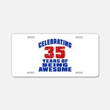 Celebrating 35 Years Of Bei Aluminum License Plate