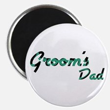 "Airstream - Groom's Dad 2.25"" Magnet (10 pack)"