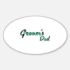 Airstream - Groom's Dad Oval Decal