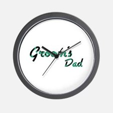 Airstream - Groom's Dad Wall Clock
