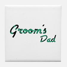 Airstream - Groom's Dad Tile Coaster