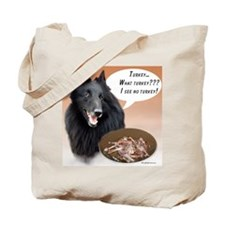 Belgian Sheep Turkey Tote Bag